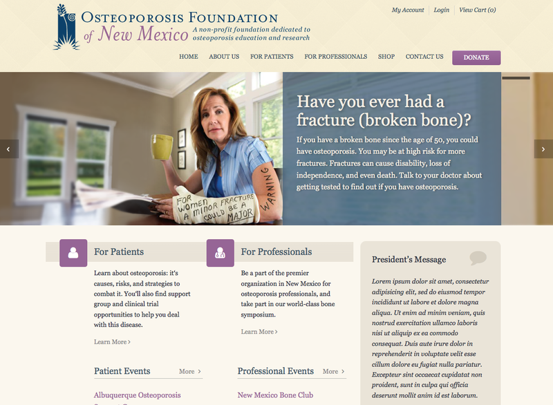 Osteoporosis Foundation of New Mexico